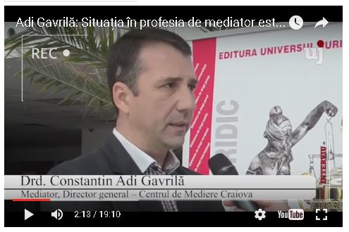 interviu despre mediere